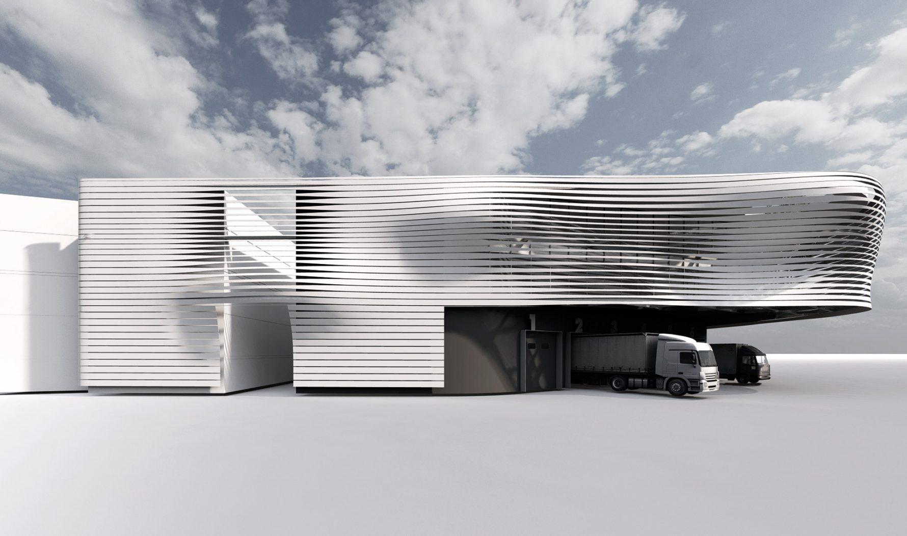 logistics building